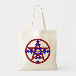 MEDIEVAL PENTACLE TOTE BAG