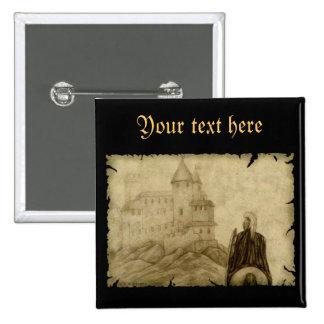 Medieval Pinback Button