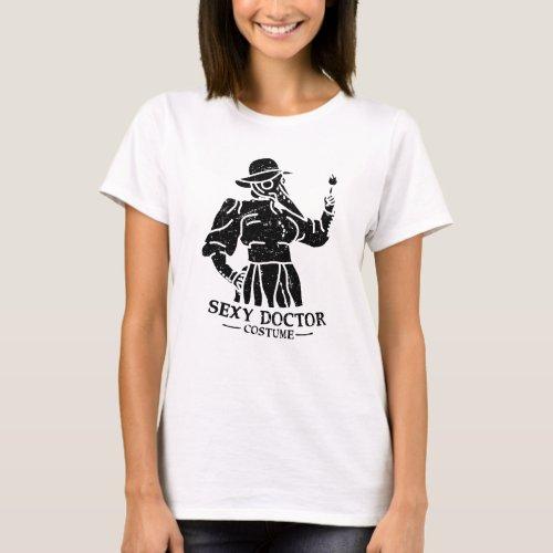 Medieval Plague Doctor Dark T_Shirt
