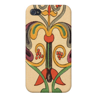 Medieval Psalter of St. Augustine Scroll Detail iPhone 4/4S Case