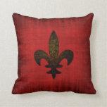 Medieval Red Velvet Cushion Pillow