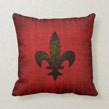 Medieval Red Velvet Cushion Pillows