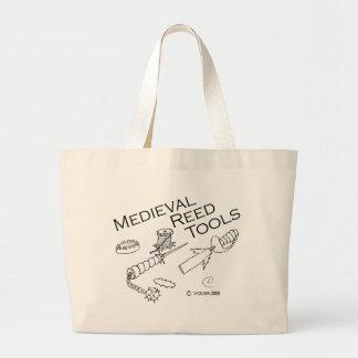 Medieval Reed Tools Large Tote Bag
