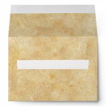 Medieval Renaissance Faux Parchment Wedding Envelope