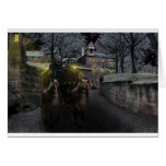 Medieval Renaissance Knights castle old Card