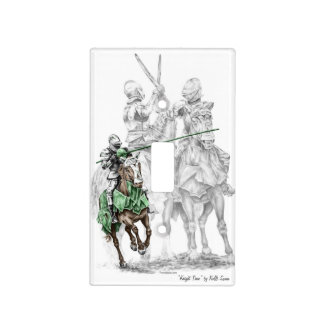 Medieval Renaissance Knights Light Switch Cover