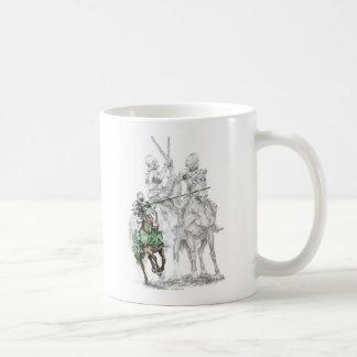 Medieval Renaissance Knights Coffee Mugs