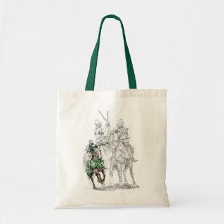 Medieval Renaissance Knights Tote Bag