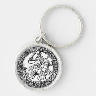 Medieval Rider Herald Keychain