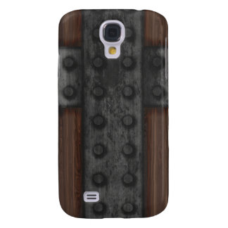 Medieval Riveted Door Samsung Galaxy S4 Cover