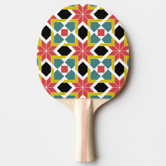 Medieval romanesque red cross Ping-Pong paddle
