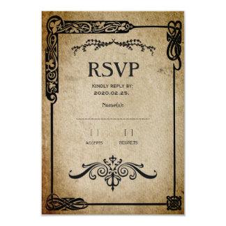 Medieval RSVP Card