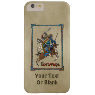 Medieval Russian Bogatyr Barely There iPhone 6 Plus Case