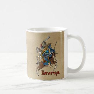 Medieval Russian Bogatyr Coffee Mug