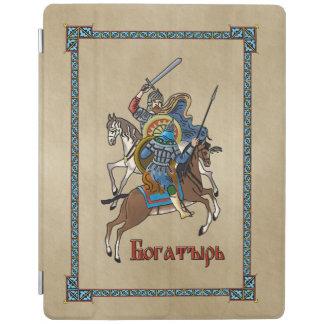 Medieval Russian Bogatyr iPad Cover