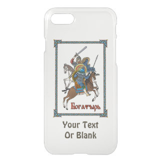 Medieval Russian Bogatyr iPhone 7 Case