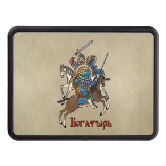 Medieval Russian Bogatyr Tow Hitch Cover