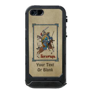 Medieval Russian Bogatyr Waterproof iPhone SE/5/5s Case