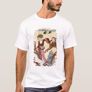 Medieval Scene by Georges Barbier T-Shirt