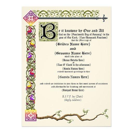 Gothic Wedding Invites is amazing invitations sample