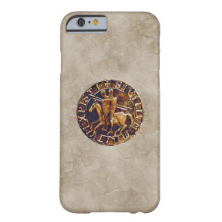 Medieval Seal of the Knights Templar Barely There iPhone 6 Case