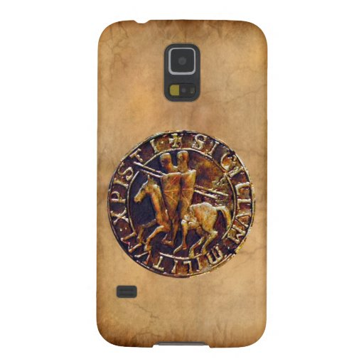 Medieval Seal of the Knights Templar Galaxy S5 Cases