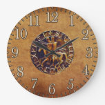 Medieval Seal of the Knights Templar Clock