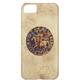 Medieval Seal of the Knights Templar Cover For iPhone 5C