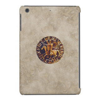 Medieval Seal of the Knights Templar iPad Mini Cover
