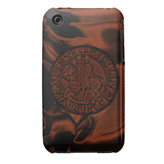 Medieval Seal of the Knights Templar iPhone 3 Cover