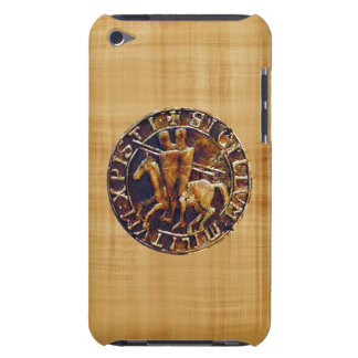 Medieval Seal of the Knights Templar iPod Touch Case