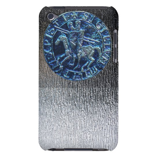 Medieval Seal of the Knights Templar iPod Touch Case-Mate Case