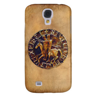 Medieval Seal of the Knights Templar Samsung Galaxy S4 Cover