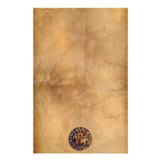 Medieval Seal of the Knights Templar Stationery