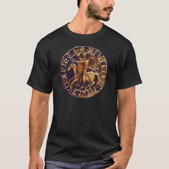 Medieval Seal of the Knights Templar T-Shirt