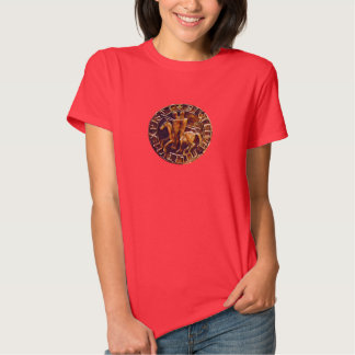 Medieval Seal of the Knights Templar Tee Shirt