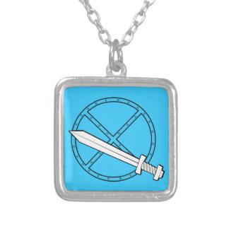 Medieval Shield w/ Sword Pendant