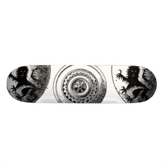 Medieval Shields Skateboard