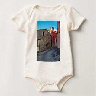 Medieval Sicilian mountain village Baby Bodysuit