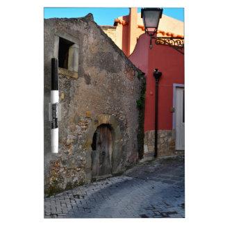 Medieval Sicilian mountain village Dry-Erase Board