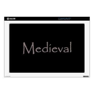"""Medieval Skins For 17"""" Laptops"""