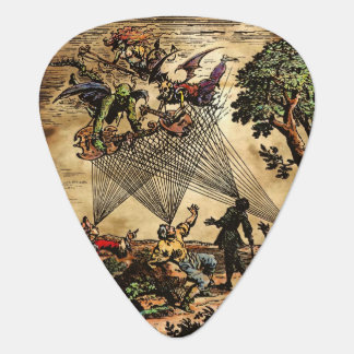 Medieval Spirit Minstrels Guitar Pick