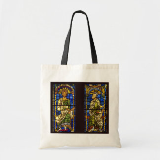 Medieval Stained Glass Canvas Bags
