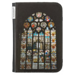 Medieval stained glass window, Holland Kindle Folio Case