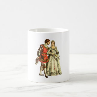 Medieval Style Illustration ~ Lord And Lady Coffee Mug