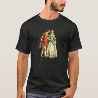 Medieval Style Illustration ~ Lord And Lady T-Shirt