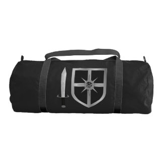 Medieval Sword and Shield Duffle Bag