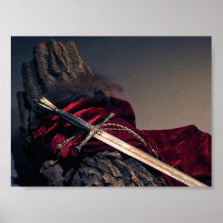 Medieval Sword Mini Poster