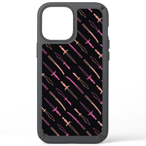 MEDIEVAL SWORD PATTERN DESIGN  Case-Mate iPhone CA Speck iPhone 12 Pro Max Case