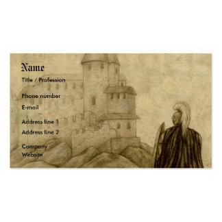 Medieval Tarjetas De Visita